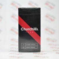 کاندوم چرچیل churchills مدل ULTRA THIN *2