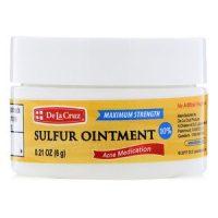 پماد گوگرد ضدجوش De La Cruz مدل Sulfur