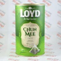 چای سبز Loyd مدل Chun Mee