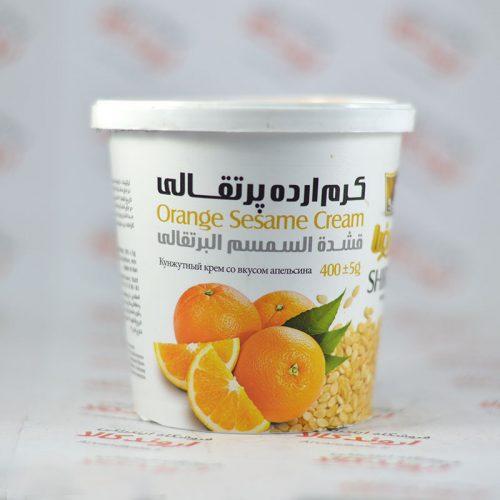 کرم ارده شیررضا Shirreza مدل (Orange(400gr