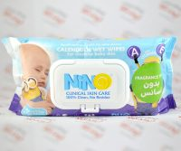 دستمال مرطوب نینو Nino مدل Clinical Skin Care