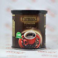 پودر قهوه ترک فرمند Farmand وزن ۱۰۰ گرم