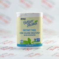 شیرین کننده فوری استویا Nowfoods مدل Better Stevia
