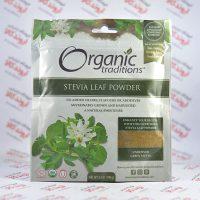 پودر برگ استویا ارگانیک Organic Traditions