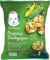 غلات اورگانیک گربر Gerber مدل Green & Yellow Peas