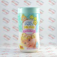 دستمال مرطوب کودک دلفین Dolphin مدل Premium Quality