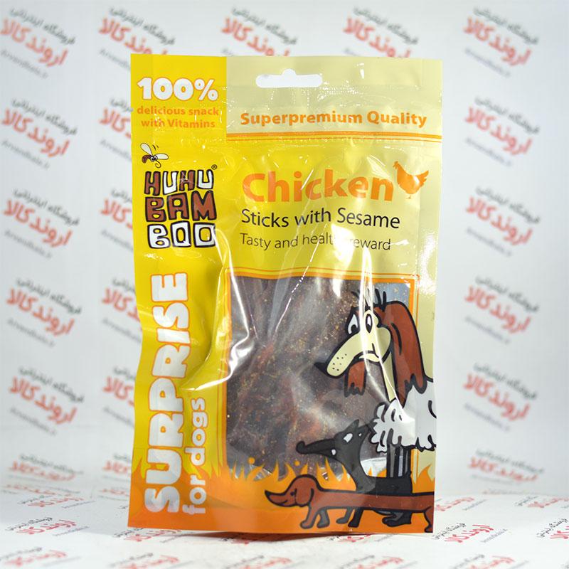 تشویقی سگ هوهو بامبو HuHu BAM BOO مدل Chicken