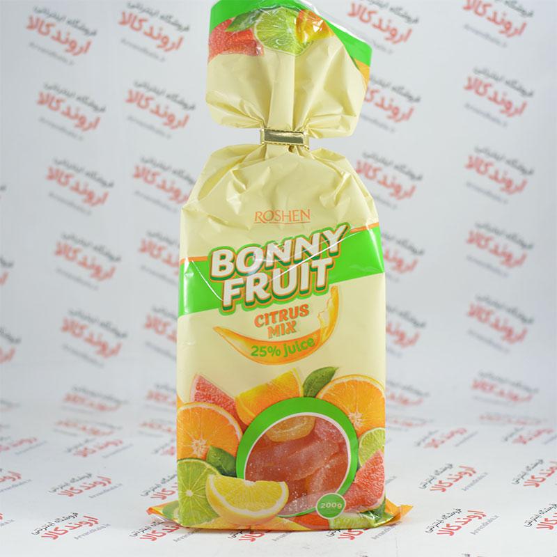 شیرینی ژله ای روشن Roshen مدل Citrus Mix