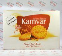 بیسکوییت بدون قند آرد جو دوسر کامور Kamvar
