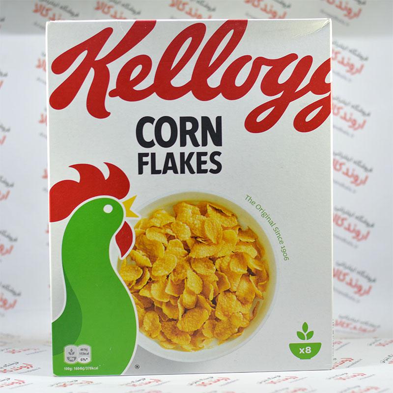 کورن فلکس صبحانه کلوگس Kellogg's مدل اورجینال (250gr)