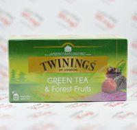 چای سبز توینینگز twinings مدل Forest Fruits