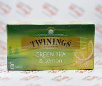 چای سبز توینینگز twinings مدل Lemon