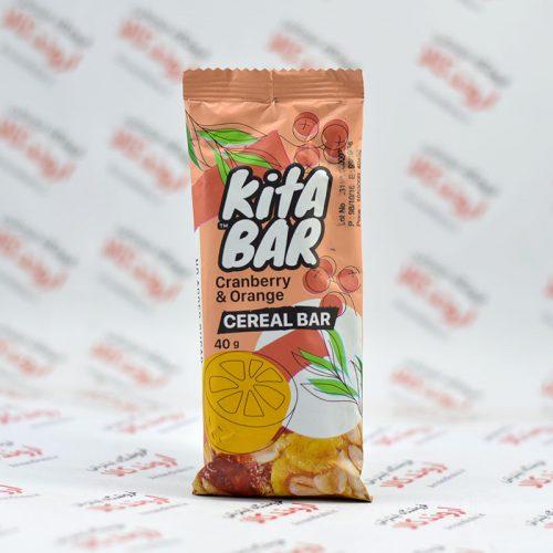 غلات میوه ای کیتابار Kita Bar مدل Cranberry & Orange