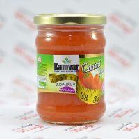 مربای رژیمی کامور Kamvar مدل Carrots