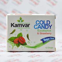 آبنبات ورقه ای بدون قند کامور Kamvar مدل Strawberry