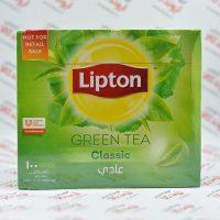 چای سبز کیسه ای لیپتون Lipton مدل Classic