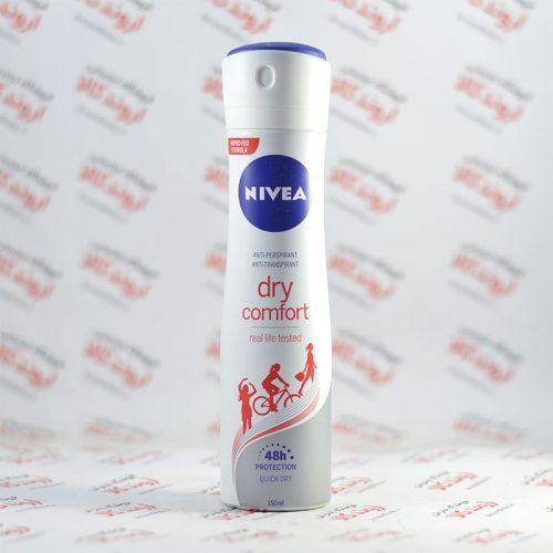 اسپری ضد تعریق نیوا Nivea مدل dry comfort