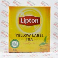 چای کیسه ای لیپتون Lipton مدل Yellow