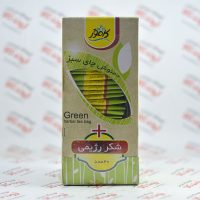 دمنوش رژیمی چای سبز کامور Kamvar مدل Green