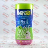 دستمال مرطوب استوانه ای نینو Nino مدل Aloe Vera