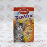 قرص تشویقی گربه سانال Sanal مدل Top Mix