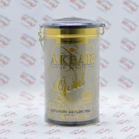 چای قوطی اکبر Akbar مدل Gold