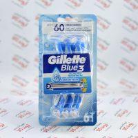 خودتراش ژیلت Gillette سری Blue3 مدل Cool