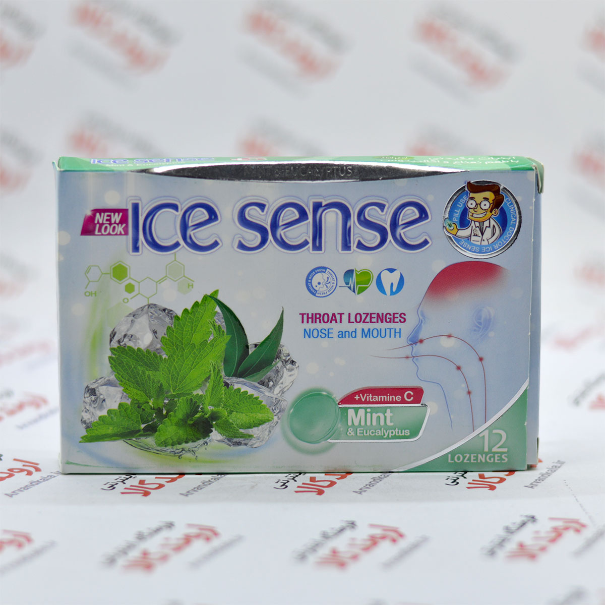 آبنبات آیس سنس Ice Sense مدل Mint & Eucalyptus