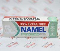 خمیر دندان سفیدکننده روزانه میسویک Misswake مدل Namel Daily White