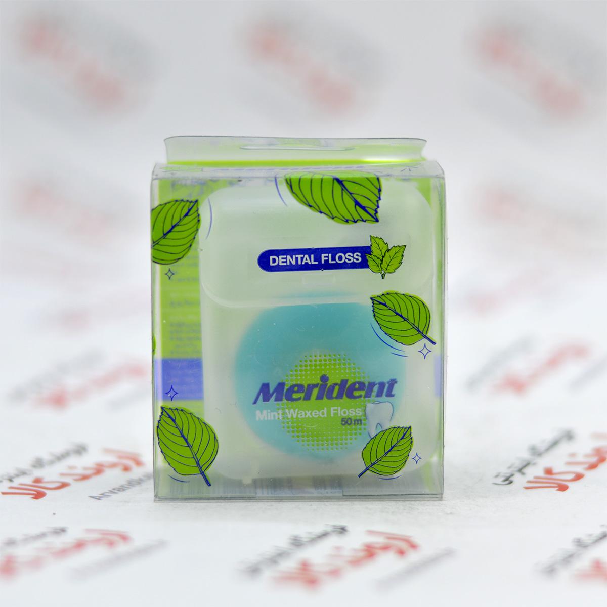 نخ دندان مریدنت Merident مدل Mint Waxed