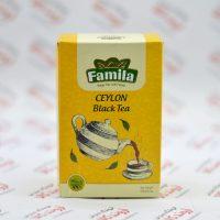 چای سیلان فامیلا Famila مدل Black Tea(100gr)