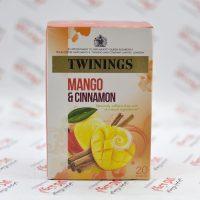 دمنوش توینینگز twinings مدل Mango & Cinnamon