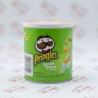 چیپس پرینگلز Pringles مدل (40gr)Sour Cream & Onion