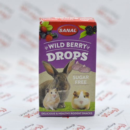 قرص تشویقی جوندگان سانال Sanal مدل Wild Berry