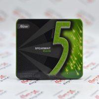 آدامس جعبه فلزی فایو Five5 مدل Spear Mint Rain