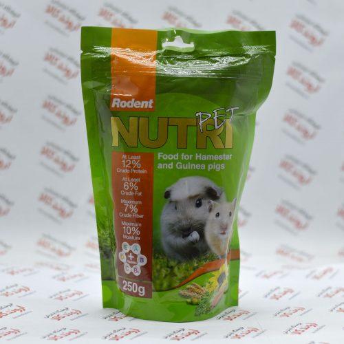 غذای خشک جوندگان نوتری Nutri مدل Hamester & Guinea Pig