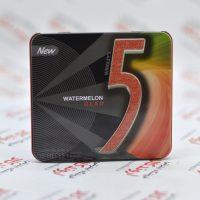 آدامس جعبه فلزی فایو Five5 مدل Watermelon Glad