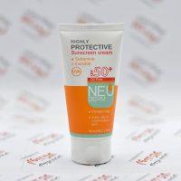 کرم ضد آفتاب بدون رنگ نئودرم Neuderm مدل Oily Skin