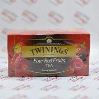 چای میوه ای توینینگز twinings مدل Four Red Fruits