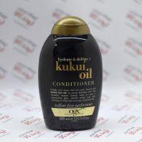 نرم کننده مو بدون سولفات او جی ایکس Ogx مدل Kukui Oil