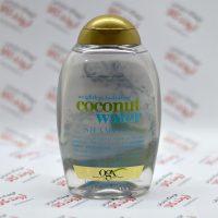 شامپو بدون سولفات او جی ایکس Ogx مدل Coconut Water