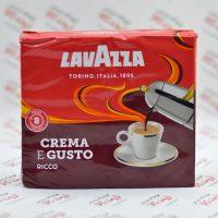 پودر قهوه لاواتزا LAVAZZA مدل Crema E Gusto Ricco 8