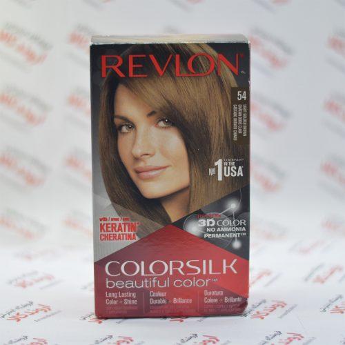 کیت رنگ مو رولون Revlon مدل Light Golden Brown 54