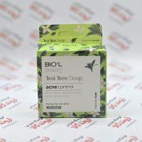 صابون پاک کننده آرایش بیول Biol مدل Tea Tree