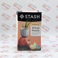 چای اولانگ کیسه ای استش stash مدل White Peach