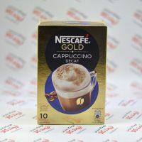 کاپوچینو فوری بدون کافئین نسکافه Nescafe مدل Decafe