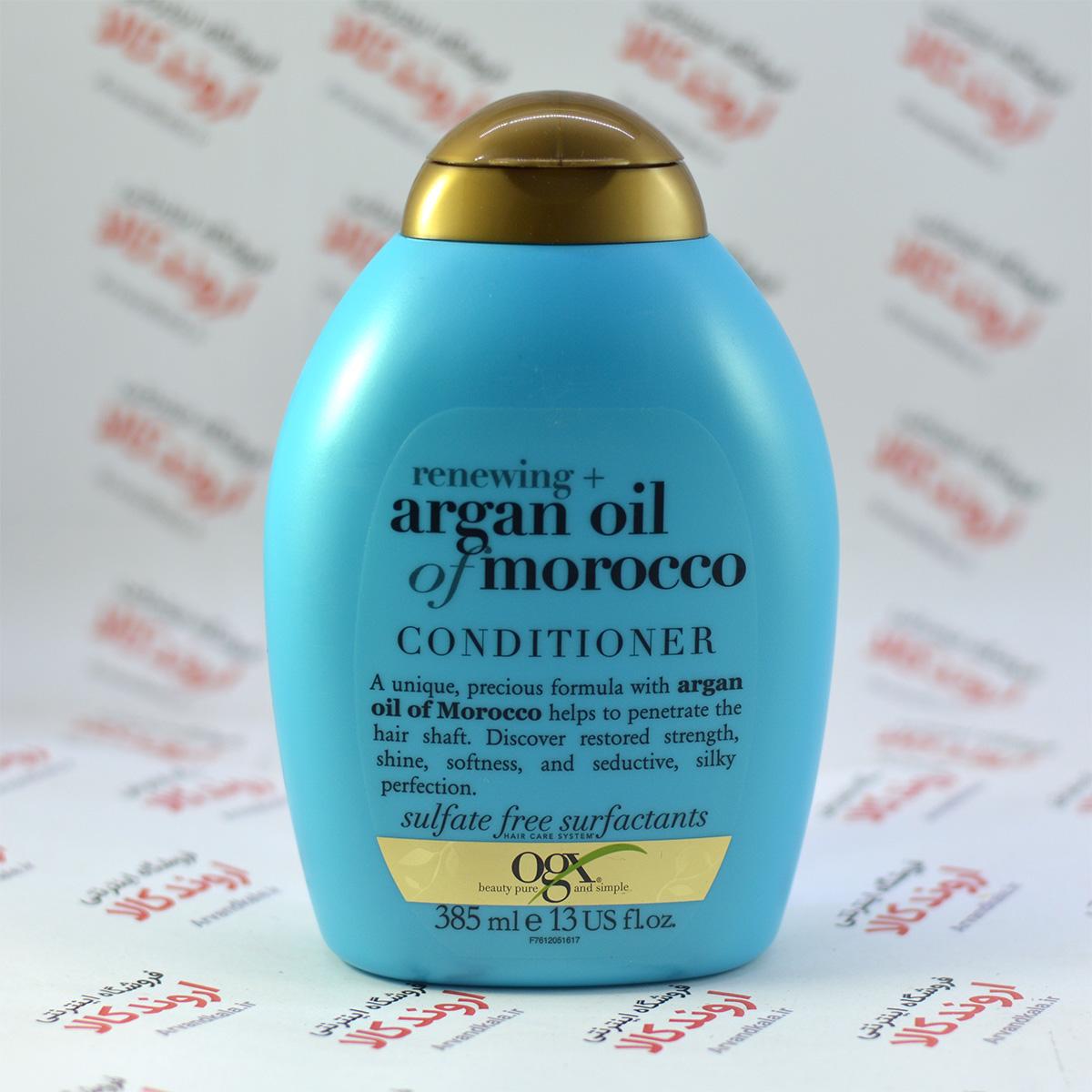 نرم کننده مو بدون سولفات او جی ایکس Ogx مدل Argan Oil