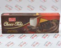 شوکو بیسکویت تلخ شیرین عسل مدل Choco Tido