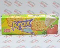 کراکر دوقلو کراکس Krax مدل Cheese & Vegetable