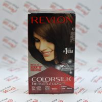 کیت رنگ مو رولون Revlon مدل 47 Medium Rich Brown